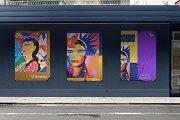 Poster Urban Street Mockup - PSD