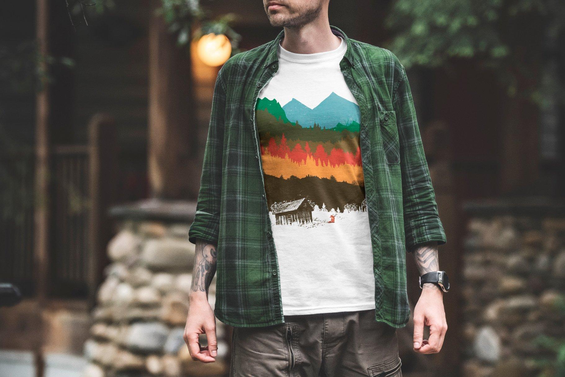 T-Shirt-Mockup-Adventure-www.mockuphill.com