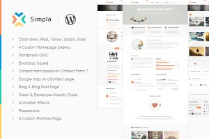 Simpla - Multipurpose WP Theme