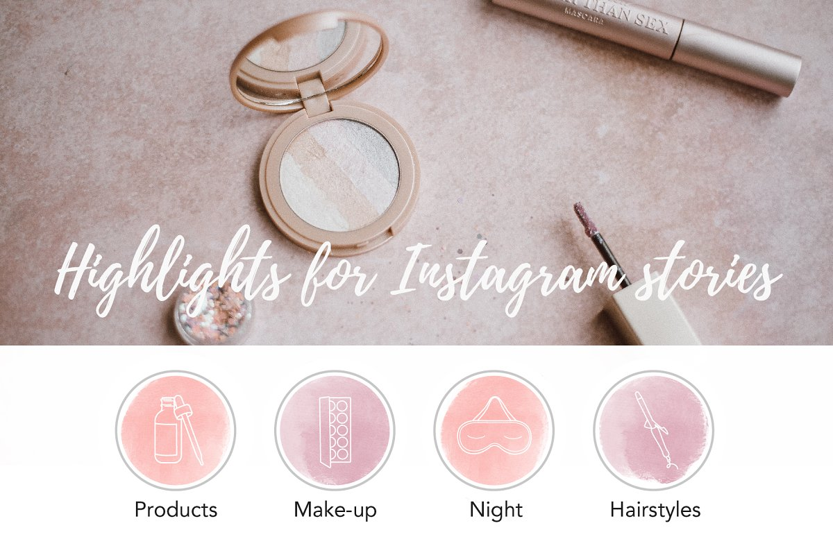 Beauty Instagram Stories Highlights