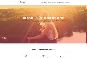 Bazinga! HTML5 Theme