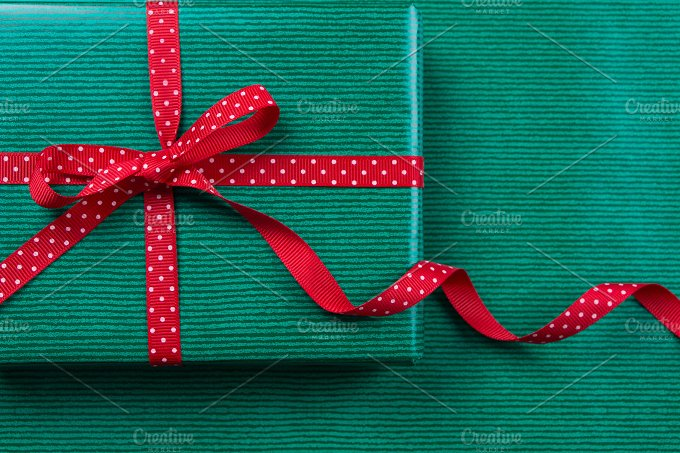 Green gift package.jpg - Holidays