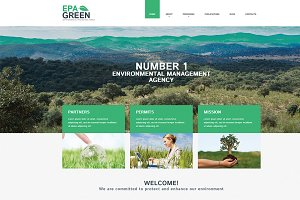 Environmental WordPress Theme