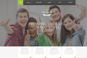 High School - WordPress Theme