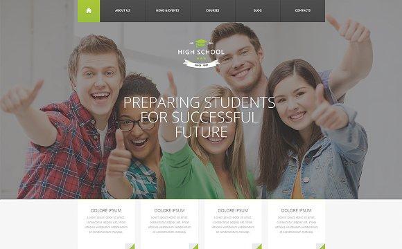 High School - WordPress Theme