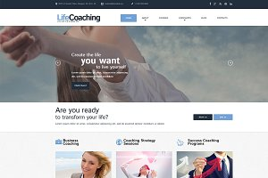 Life Coach - WordPress Theme
