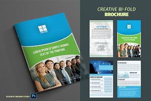 Corporate Bifold Brochure Vol 05