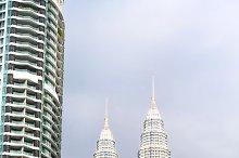 Kuala Lumpur cityscape & monorail