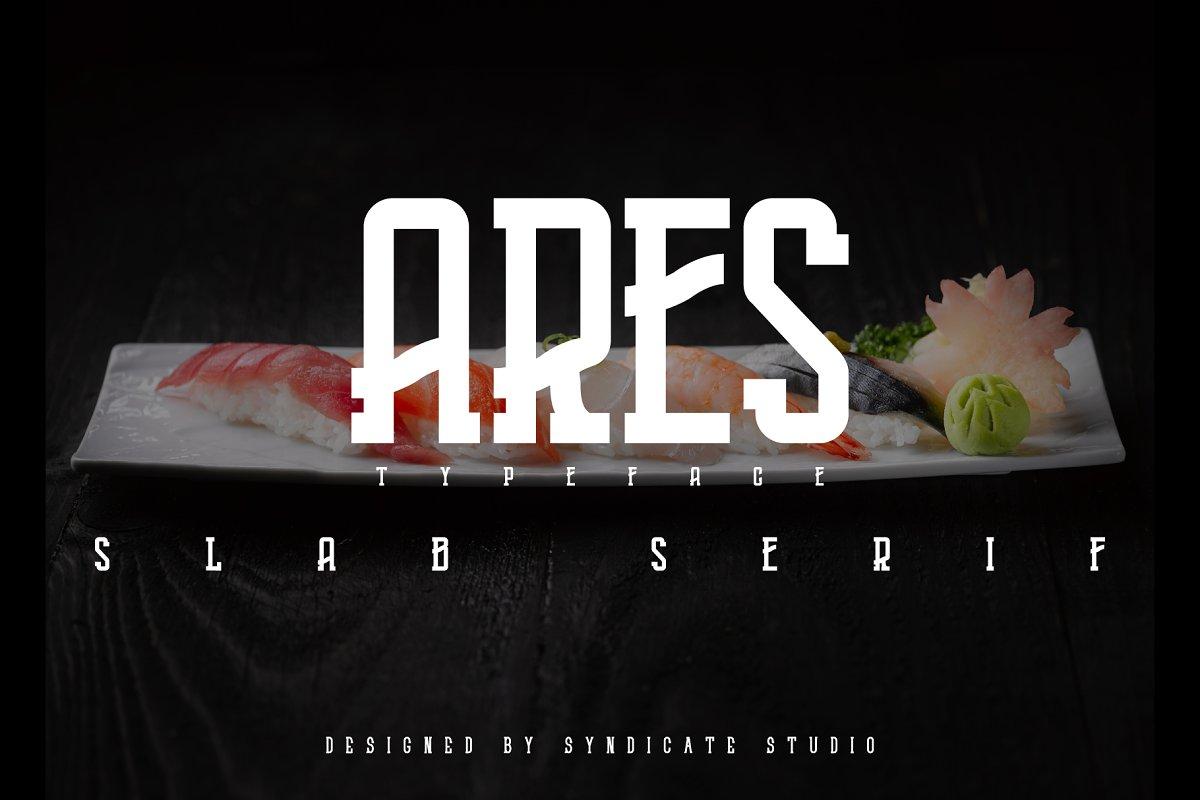 ARES I Japanese theme