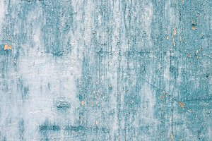 Grunge light blue wooden texture