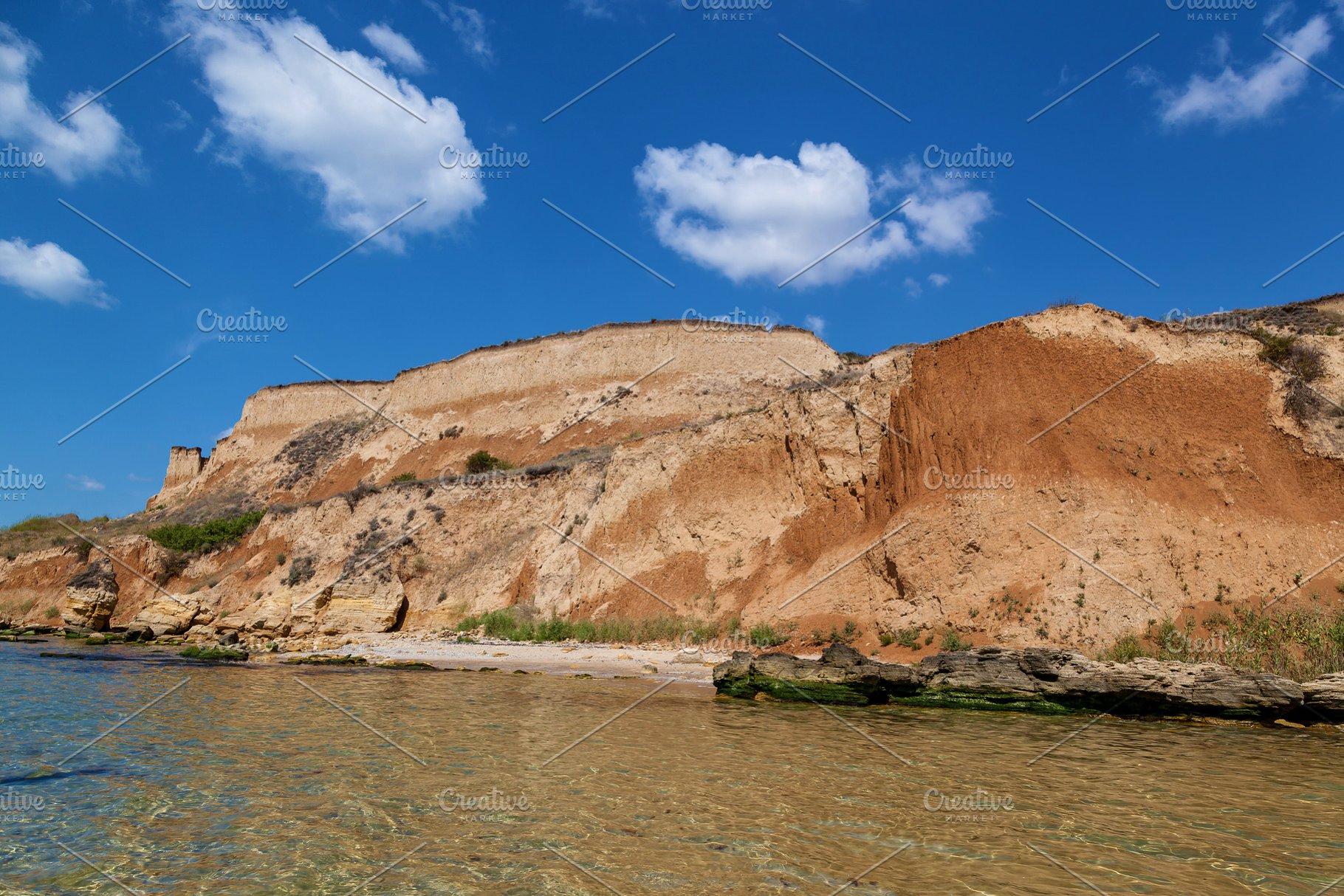 Rocky Black Sea Coast Odessa Ukraine