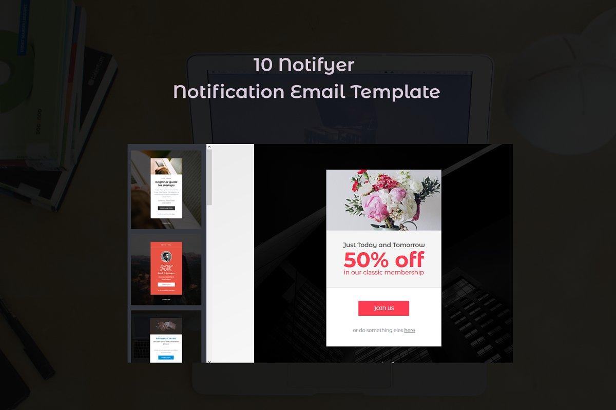 Notifyer - 10 Notification Template
