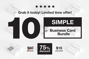 Simple Business Card Bundle - 8
