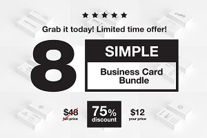 Simple Business Card Bundle - 3