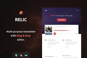 Relic Email Template + Builder