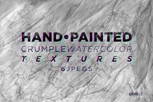 Crumple Watercolor Textures