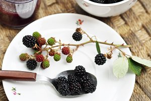 Organic brambleberries