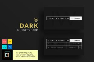 Dark - Business Card 55