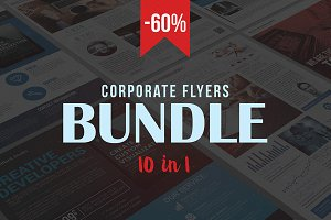 Corporate Flyers Bundle (10 in 1)