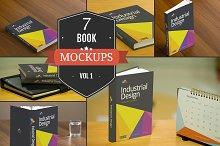 Book Cover PSD Mockups Vol. 1