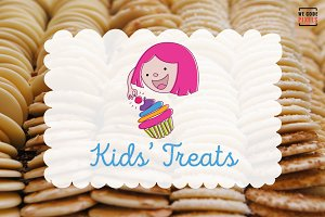 Kids' Treats Logo Template