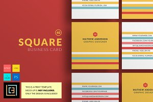 Square - Business Card 40