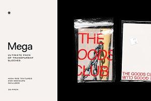 MEGA – Transparent Sleeve Pack