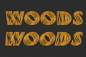 Woods Typeface