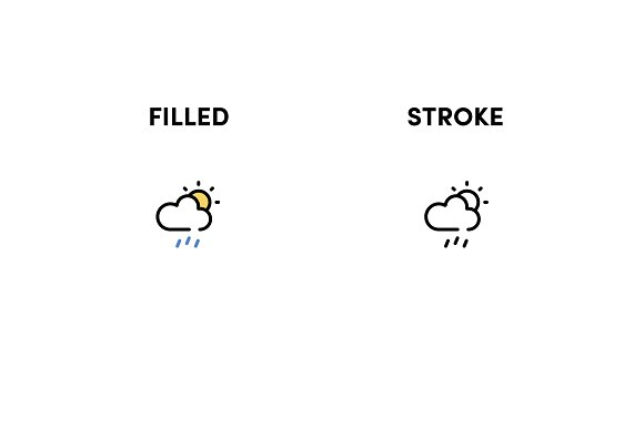 Weather Icon Pack in Icons Packs - product preview 2