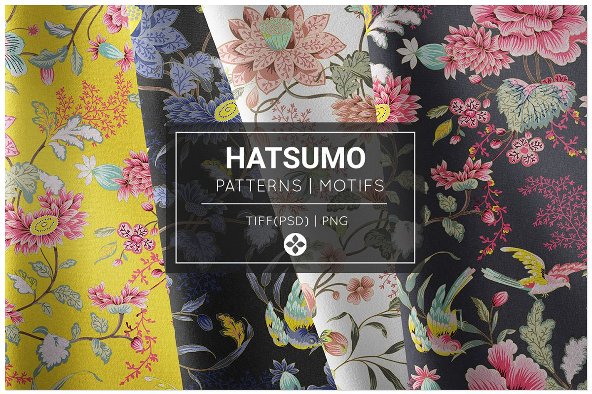 Hatsumo, Exquisite Oriental Patterns