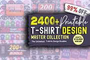 2400 TShirt Design Master Collection