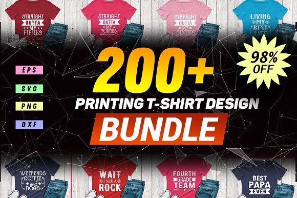 2400 TShirt Design Master Collection in Objects - product preview 1