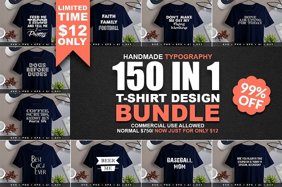 2400 TShirt Design Master Collection in Objects - product preview 6
