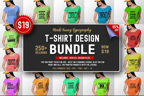 2400 TShirt Design Master Collection in Objects - product preview 10