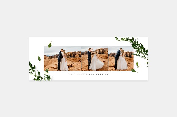 Wedding Facebook Cover FB028 in Facebook Templates - product preview 1