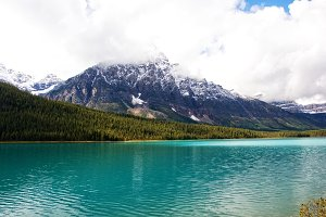 Deep Blue Lake Alberta, Canada