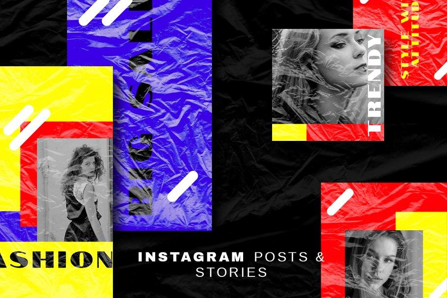 Slick-Instagram Post&Story Templates