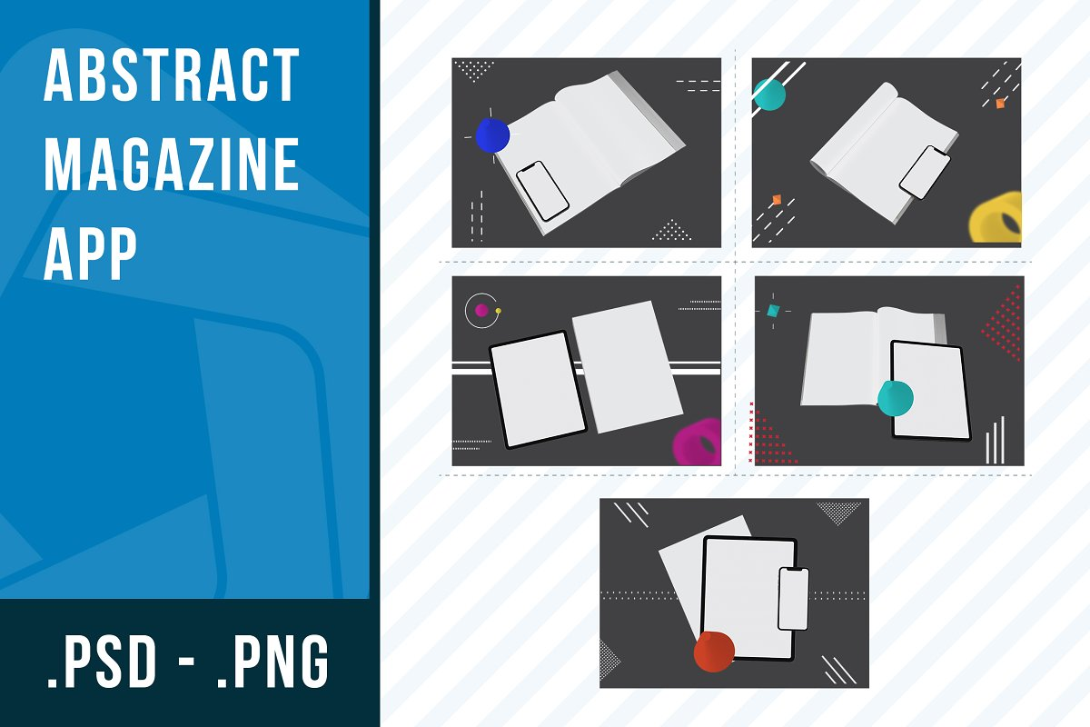 Abstract Magazine App