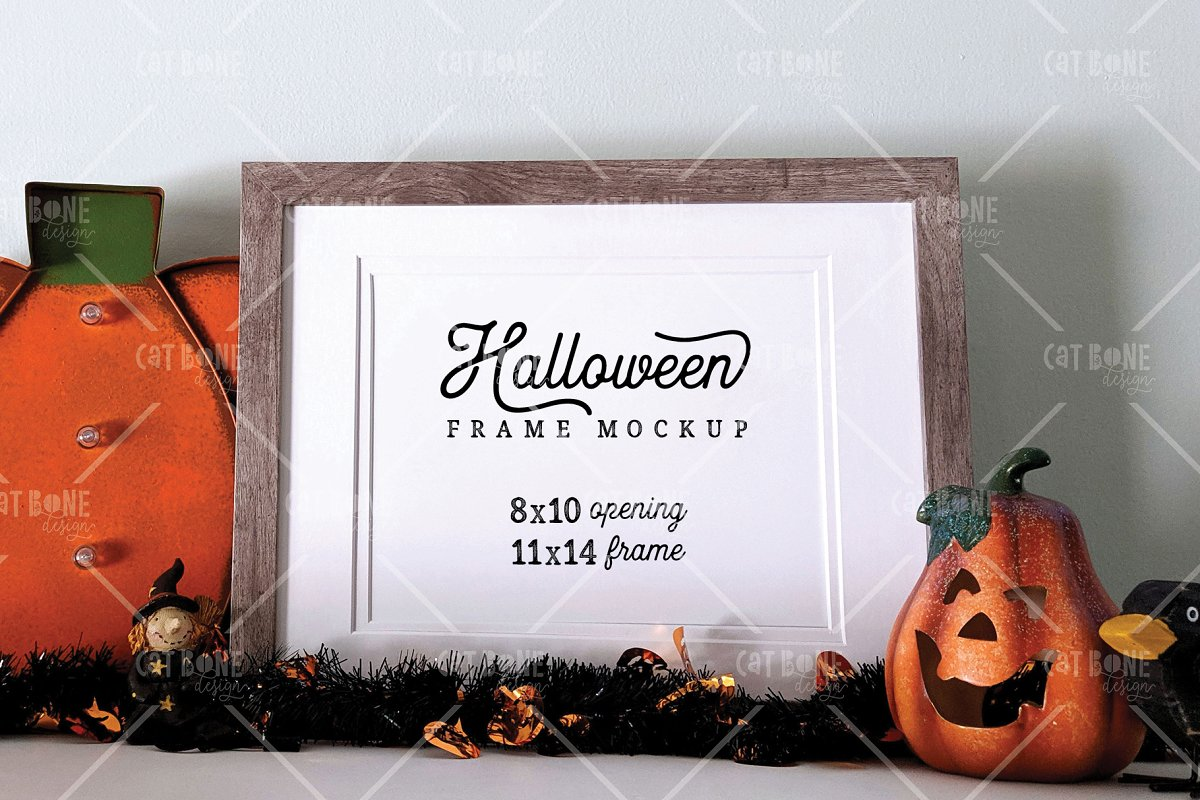 Autumn Frame Mockup Bundle 2 in Scene Creator Mockups - product preview 13