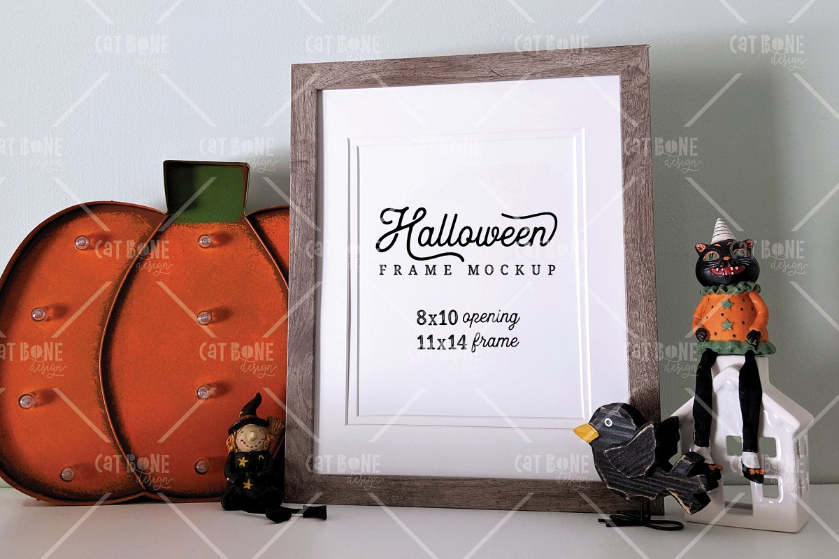 Autumn Frame Mockup Bundle 2 in Scene Creator Mockups - product preview 15