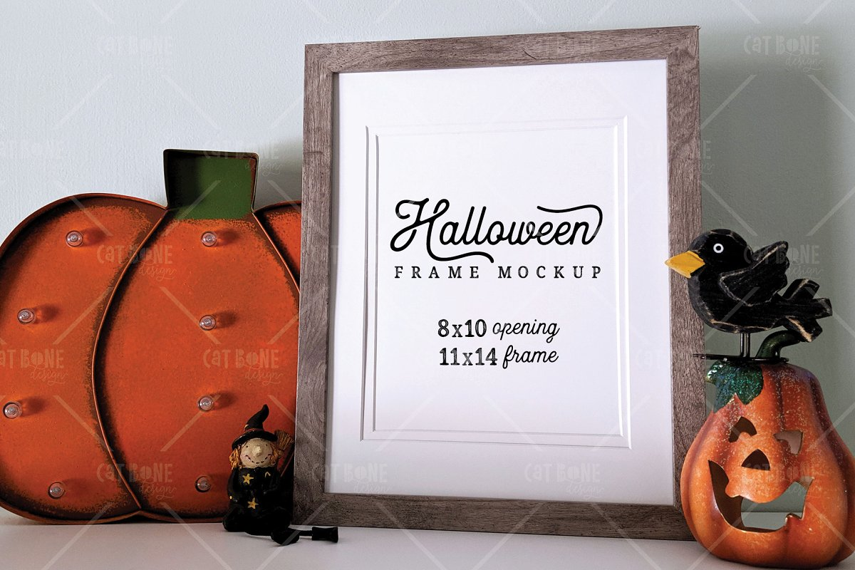 Autumn Frame Mockup Bundle 2 in Scene Creator Mockups - product preview 16
