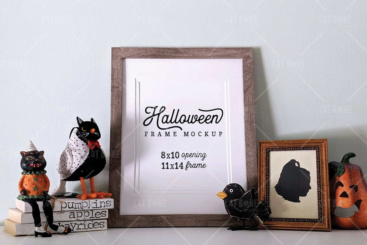 Autumn Frame Mockup Bundle 2 in Scene Creator Mockups - product preview 17