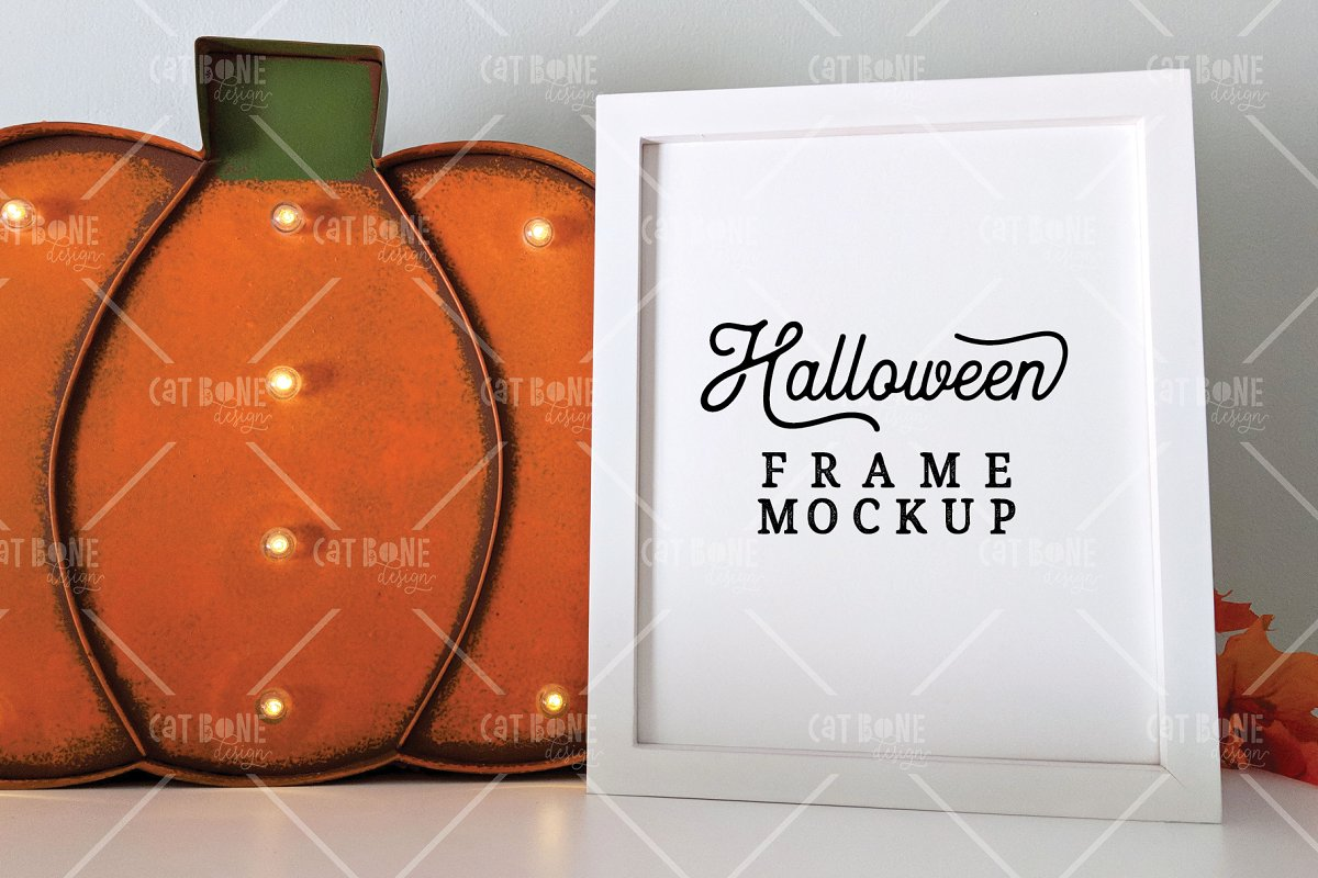 Autumn Frame Mockup Bundle 2 in Scene Creator Mockups - product preview 18