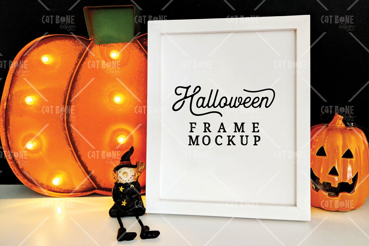 Autumn Frame Mockup Bundle 2 in Scene Creator Mockups - product preview 19