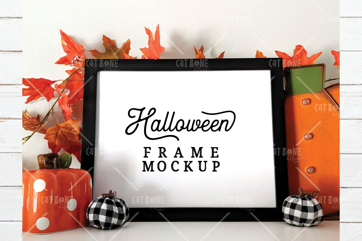 Autumn Frame Mockup Bundle 2 in Scene Creator Mockups - product preview 20