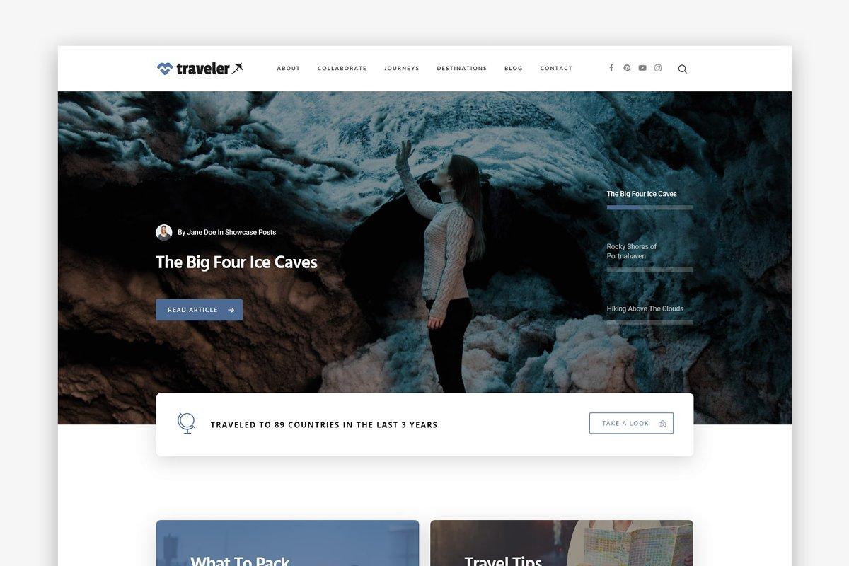 The Traveler - Travel WordPress Blog