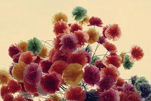 paper in flower shape
