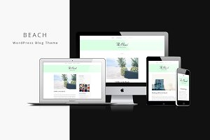 Beach - WordPress Blogging Theme
