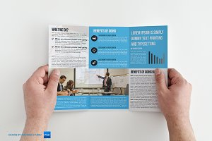 Trifold Business Brochure Vol02