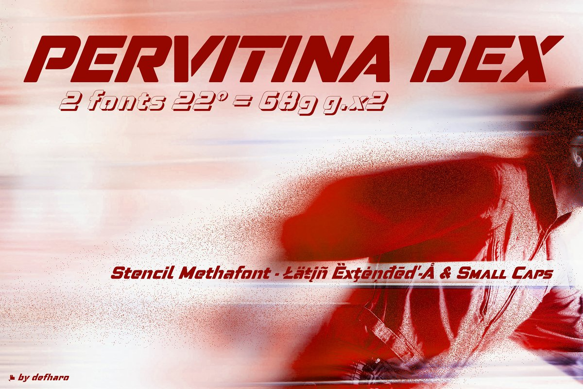Pervitina Dex -2 fonts- in Sans-Serif Fonts - product preview 8